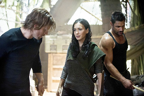 Oliver and Shado and Slade