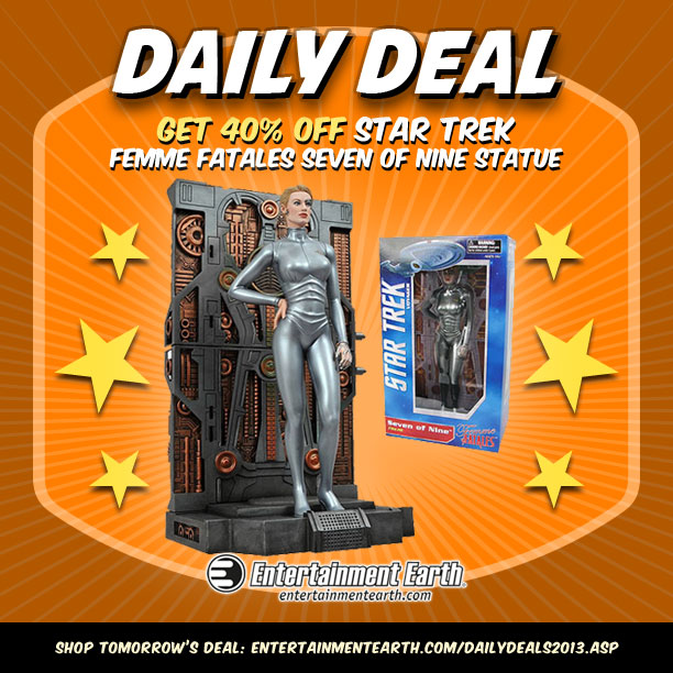 Seven of Nine Daily Deal Entertainment Earth