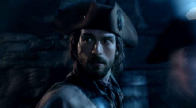 Tom Mison as Ichabod Crane at Boston Tea Party