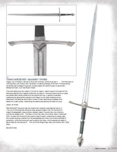 Aragorn sword