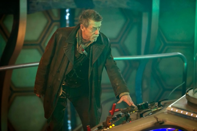 Dont touch that dial and is that a sonic screwdriver in your pocket or are you just glad to see me