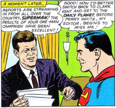 Kennedy and Superman