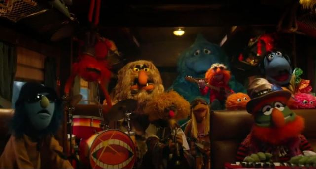 Muppets Most Wanted the band is Back