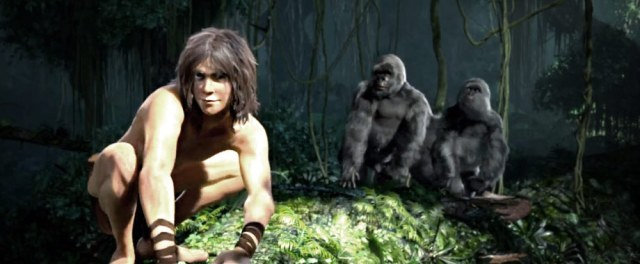 New Tarzan movie screencap