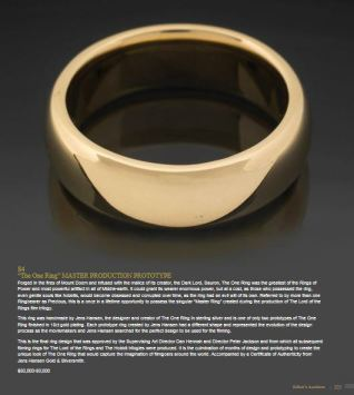 One Ring master prototype