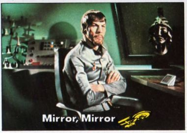 Spock Mirror card