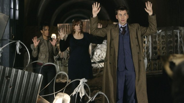 Tennant and crew