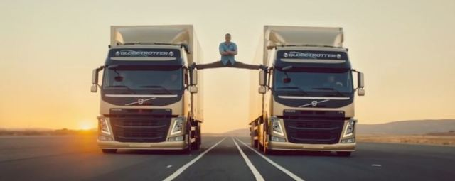 Van Damme splits trucks