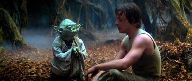 Yoda and Luke