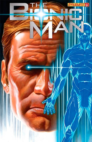 Bionic Man 15 cover