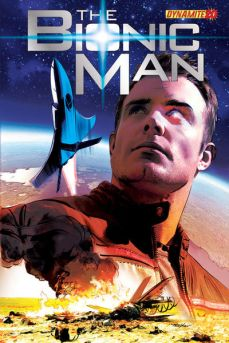 Bionic Man Issue 20 cover by Mayhew