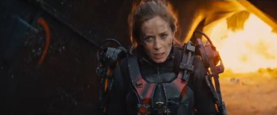 """Emily Blunt shines in trailer for sci-fi thriller """"Edge of ..."""