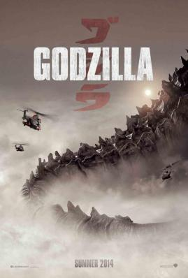 Godzilla movie poster 2014