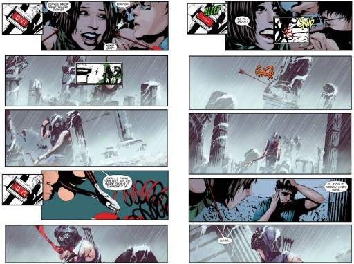 Green Arrow Sorrentino art