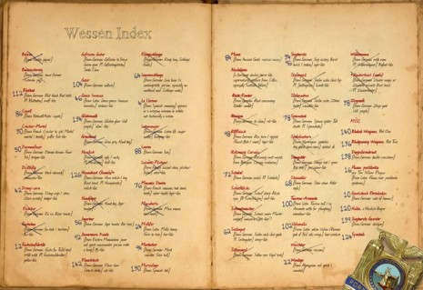 Grimm glossary