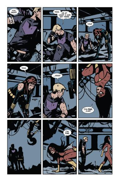 Hawkeye and Spider-woman
