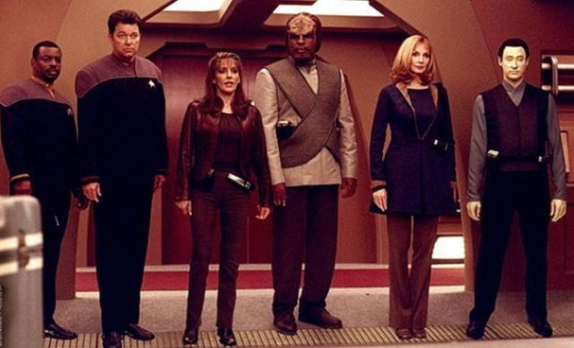 Next Gen cast photo from Insurrection