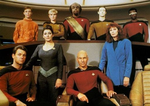 Original TNG cast photo