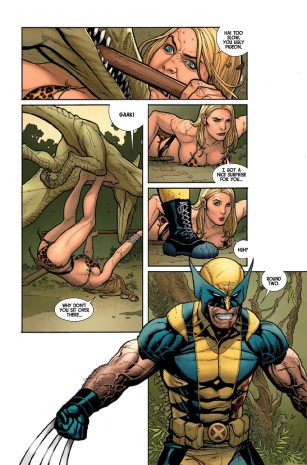 Savage Wolverine Cho art