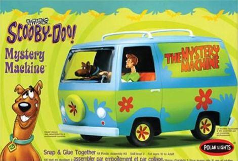 Scooby Mystery Machine