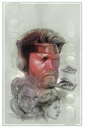 The Star Wars art to issue zero