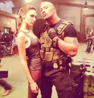 Wonder Woman and The Rock
