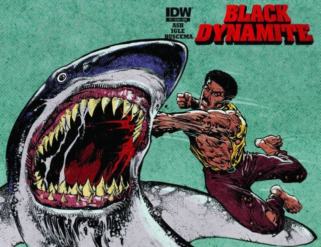 Black Dynamite alt cover variant