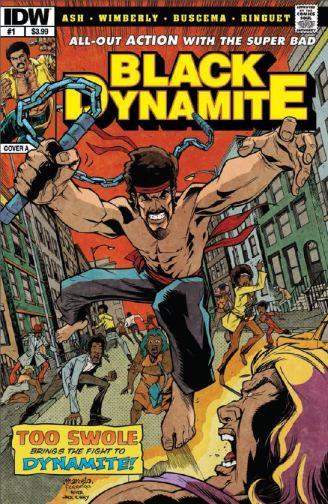 Black Dynamite cover 1