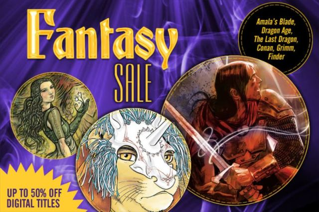Dark Horse Digital Fantasy Sale