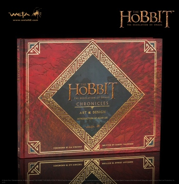 Hobbit Chronicles Smaug Art and Design cover
