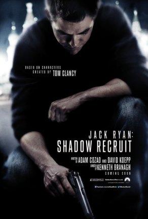 Jack Ryan Shadow Recruit movie poster