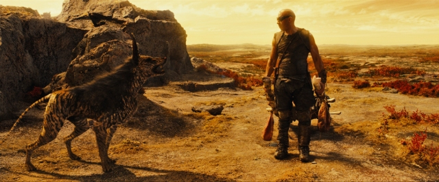 Riddick and friend