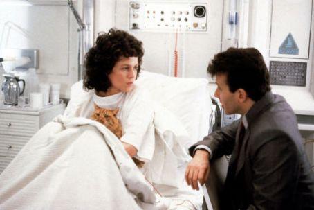 Ripley at beginning of Aliens