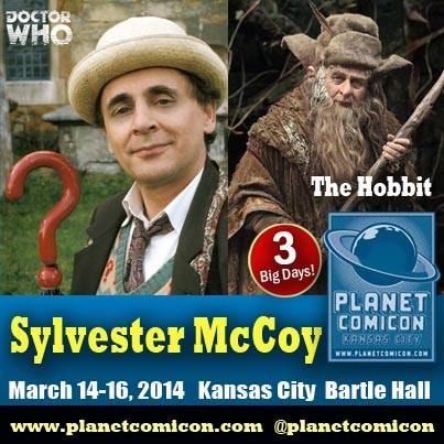 Sylvester McCoy Planet Comicon