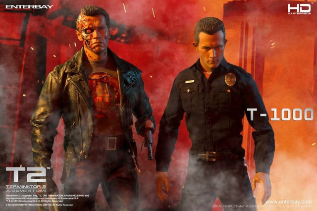 T-1000 and T-800