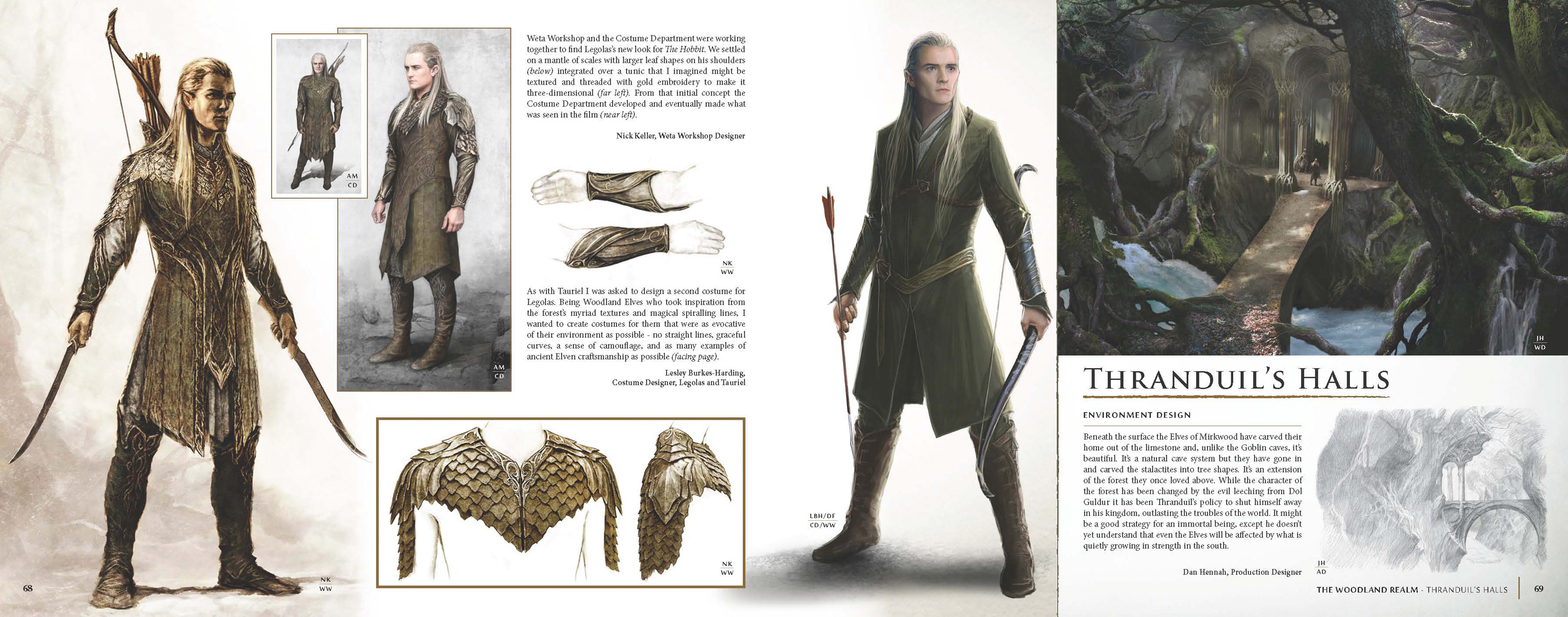 The_Hobbit-The_Desolation_of_Smaug_Chronicles-Art_Design_02 & Reviewu2013New Weta book highlights concept art behind The Hobbit: The ...