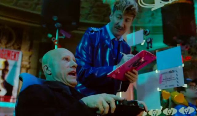 Waltz and Thewlis in The Zero Theorem