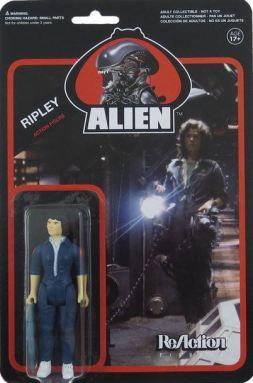 Alien Ripley ReAction figure card