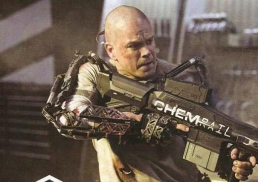 Borg HOF Matt Damon Elysium