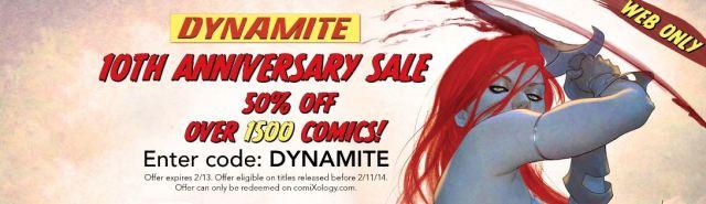 Dynamite sale banner