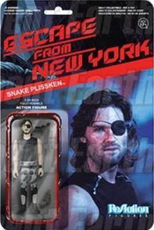 Escape from New York Snake Plissken figure card
