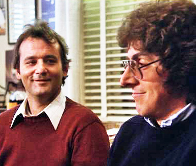 Harold Ramis and Bill Murray in Stripes
