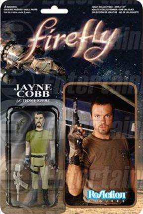 Jayne Cobb and Vera action figure Firefly Funko ReAction