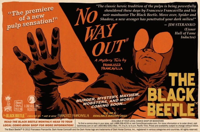 No Way Out lobby card Steranko quote