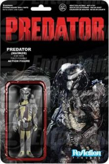Predator masked ReAction figure card