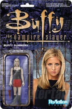 Retro Buffy the Vampire Slayer ReAction figure Funko