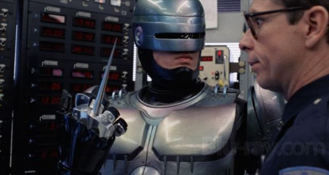 RoboCop plugs in