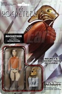 Rocketeer ReAction figure card
