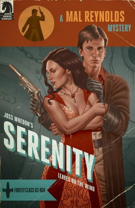 Serenity - Leaves On The Wind #1 by Joe Quinones