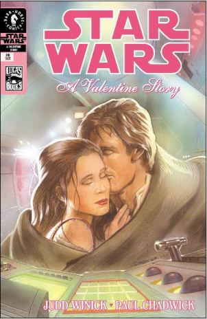 Star Wars Valentine issue